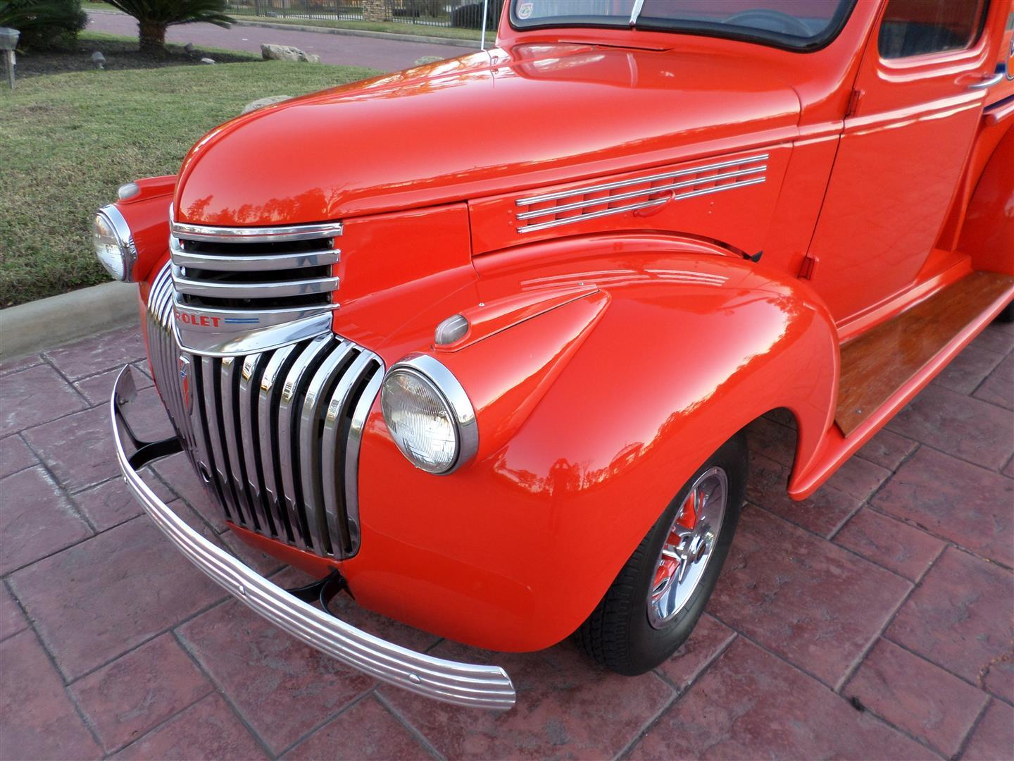 1946 Chevy Truck – TEXAS TRUCKS & CLASSICS