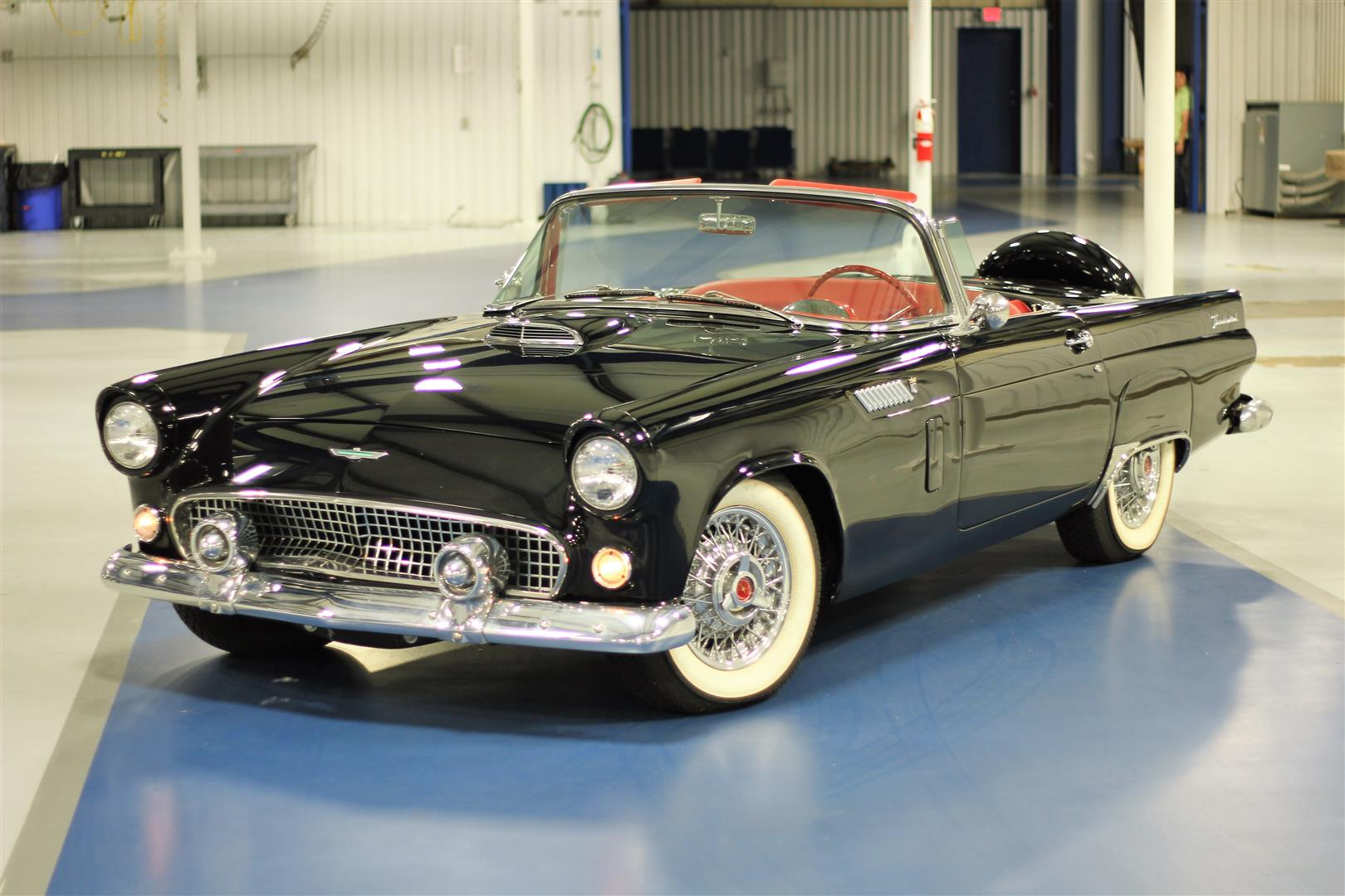 1956 Ford Thunderbird Convertible – TEXAS TRUCKS & CLASSICS