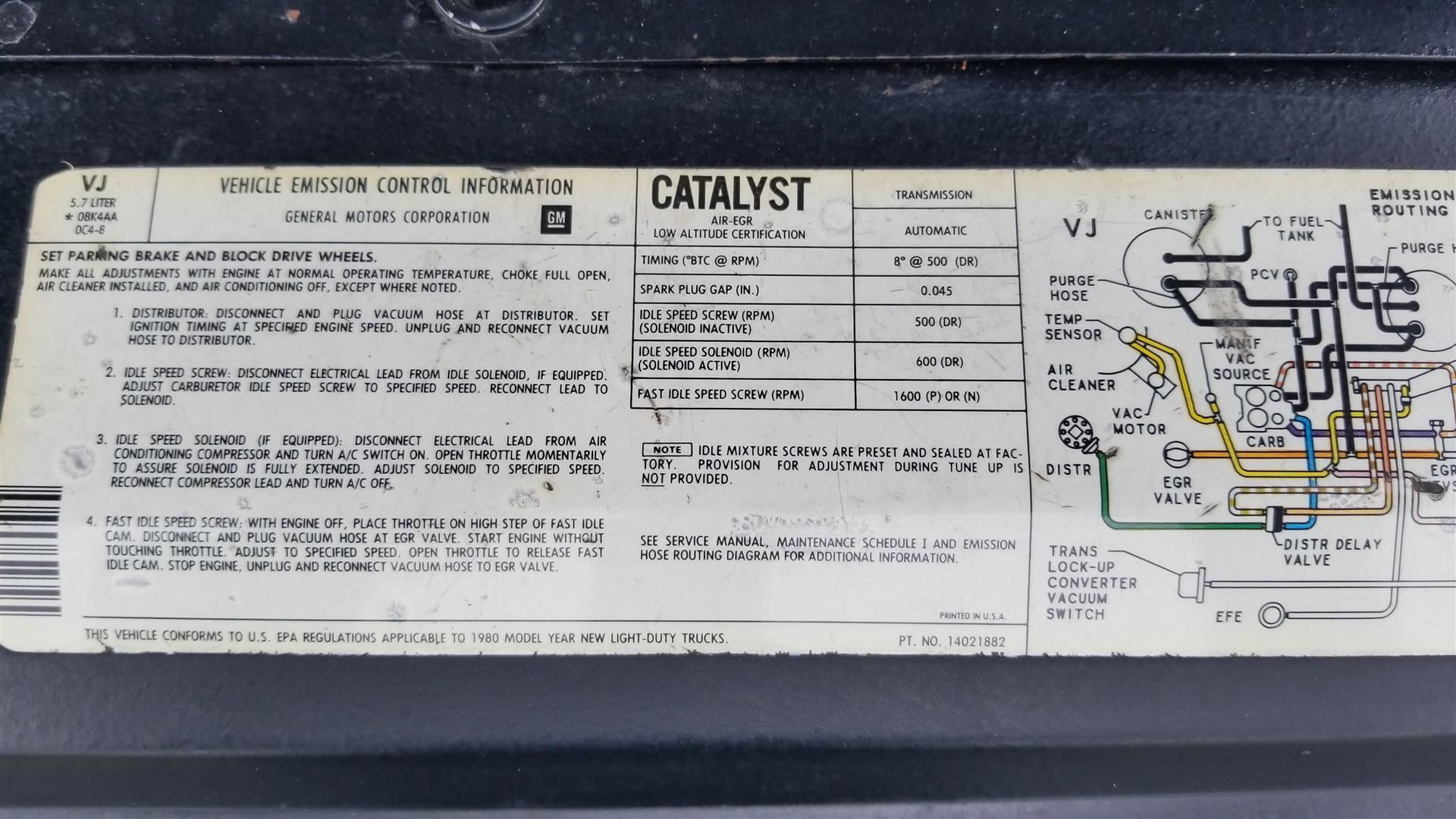 1980 Chevy K10 Short Bed Texas Trucks Classics 5 7l Electronic Ignition Wiring Diagram