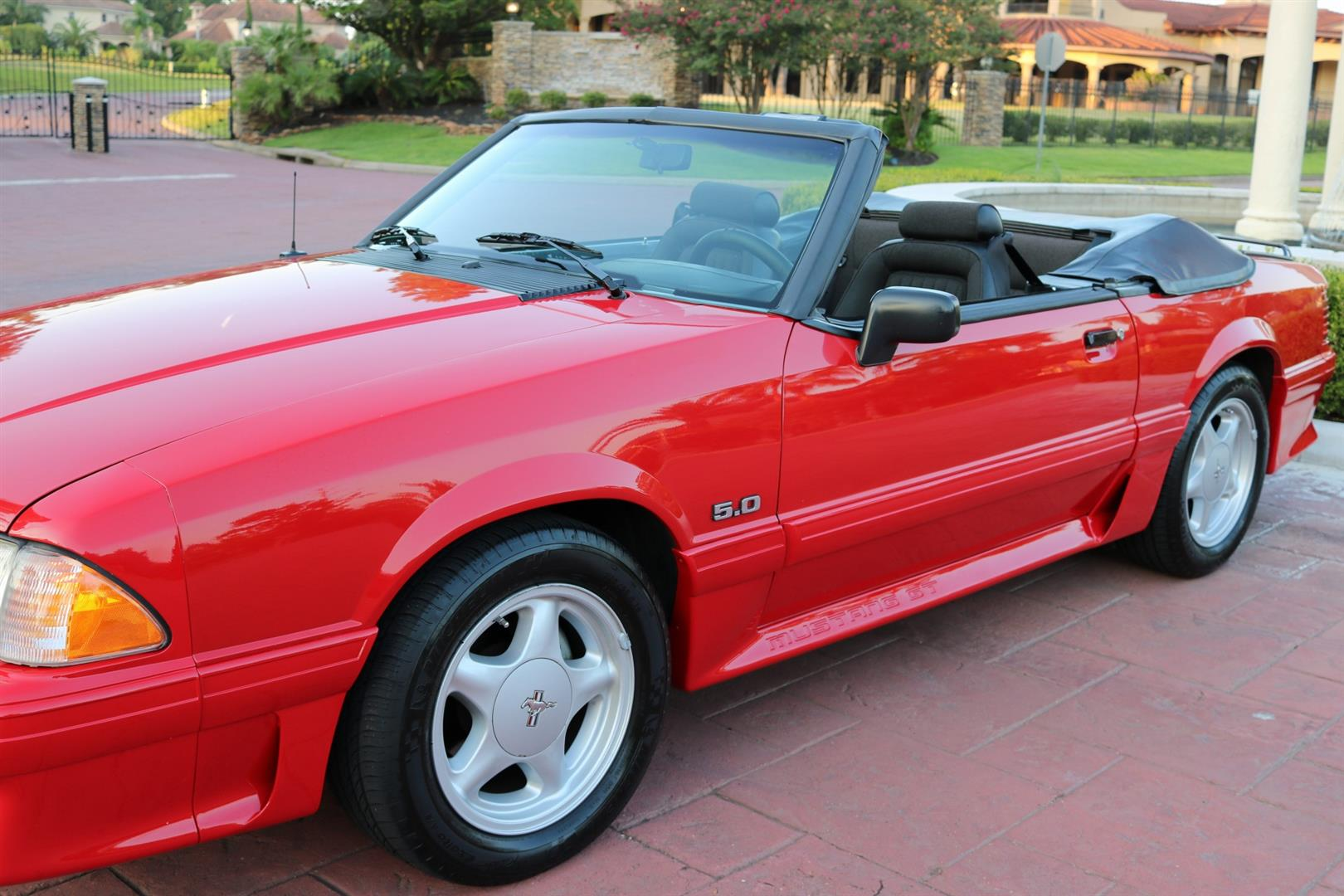 91 Mustang Gt >> 1991 Ford Mustang Gt Convertible